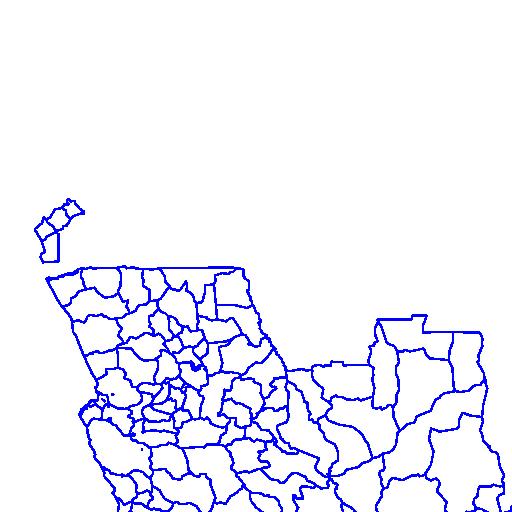Municipality Boundaries, Angola, 2007 - NYU Spatial Data Repository